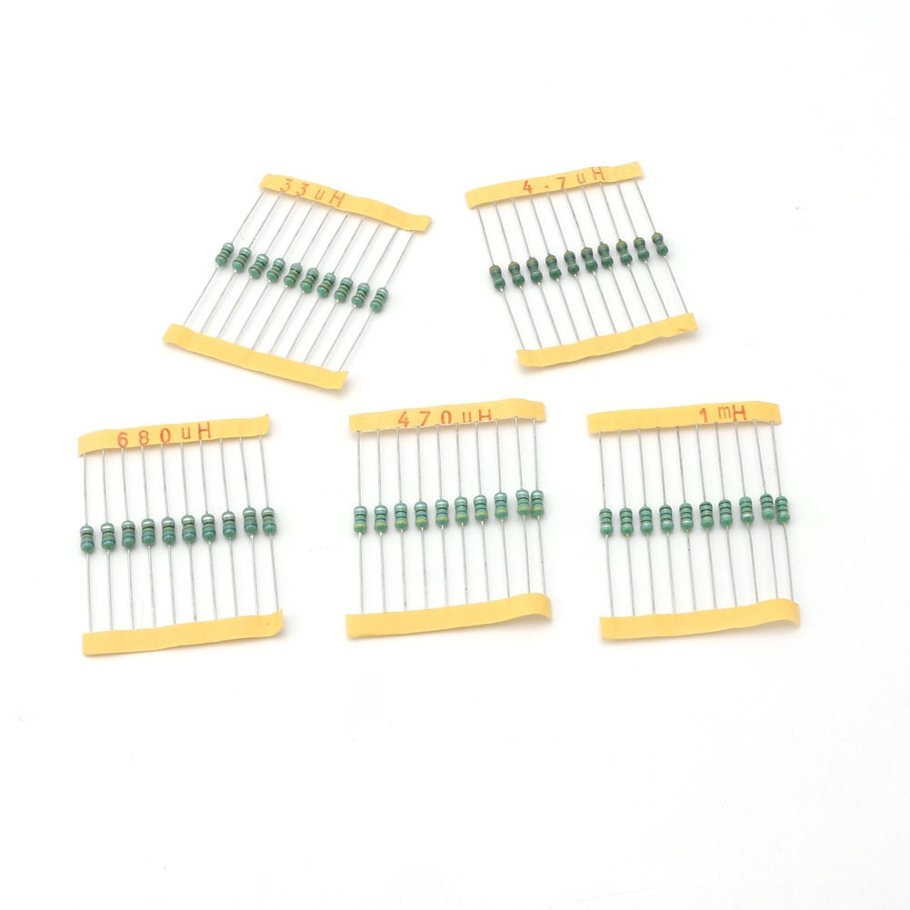 200 Uds DIP rueda de Color 20 equipo de valor 0,5 W 10 por ciento de tolerancia resistencias potencia partes accesorios eléctricos Inductor Kits