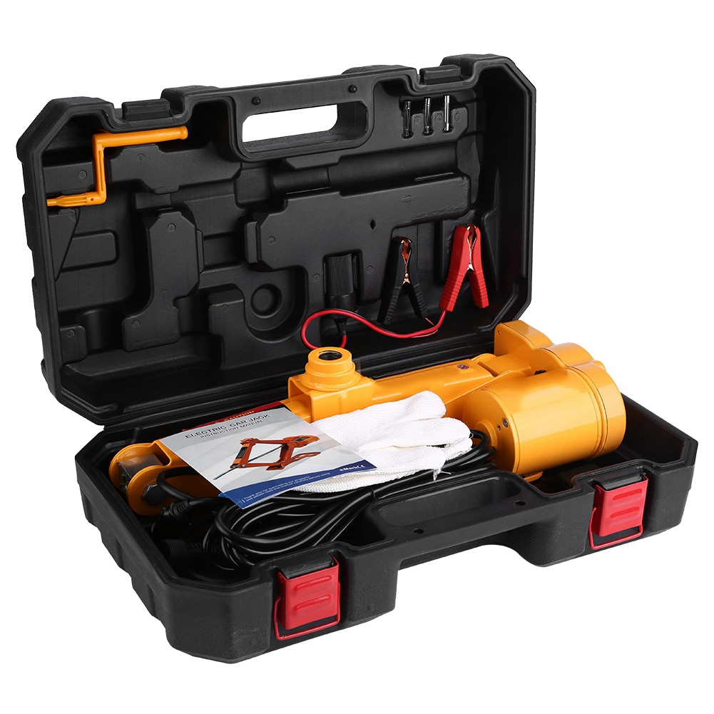 3Ton 12V DC Automotive Car Auto Electric Jack Lifting SUV Van Garage and Emergency Equipment Car Electric Jack with Controller