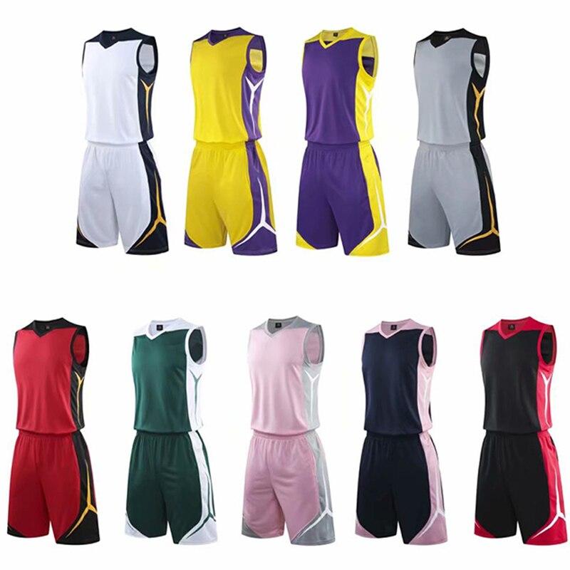 Kits faits sur commande de maillots de basket-ball dhommes, uniformes de short de sport de maillots de survêtements denfant, maillots de basket-ball duniversité des etats-unis déquipe