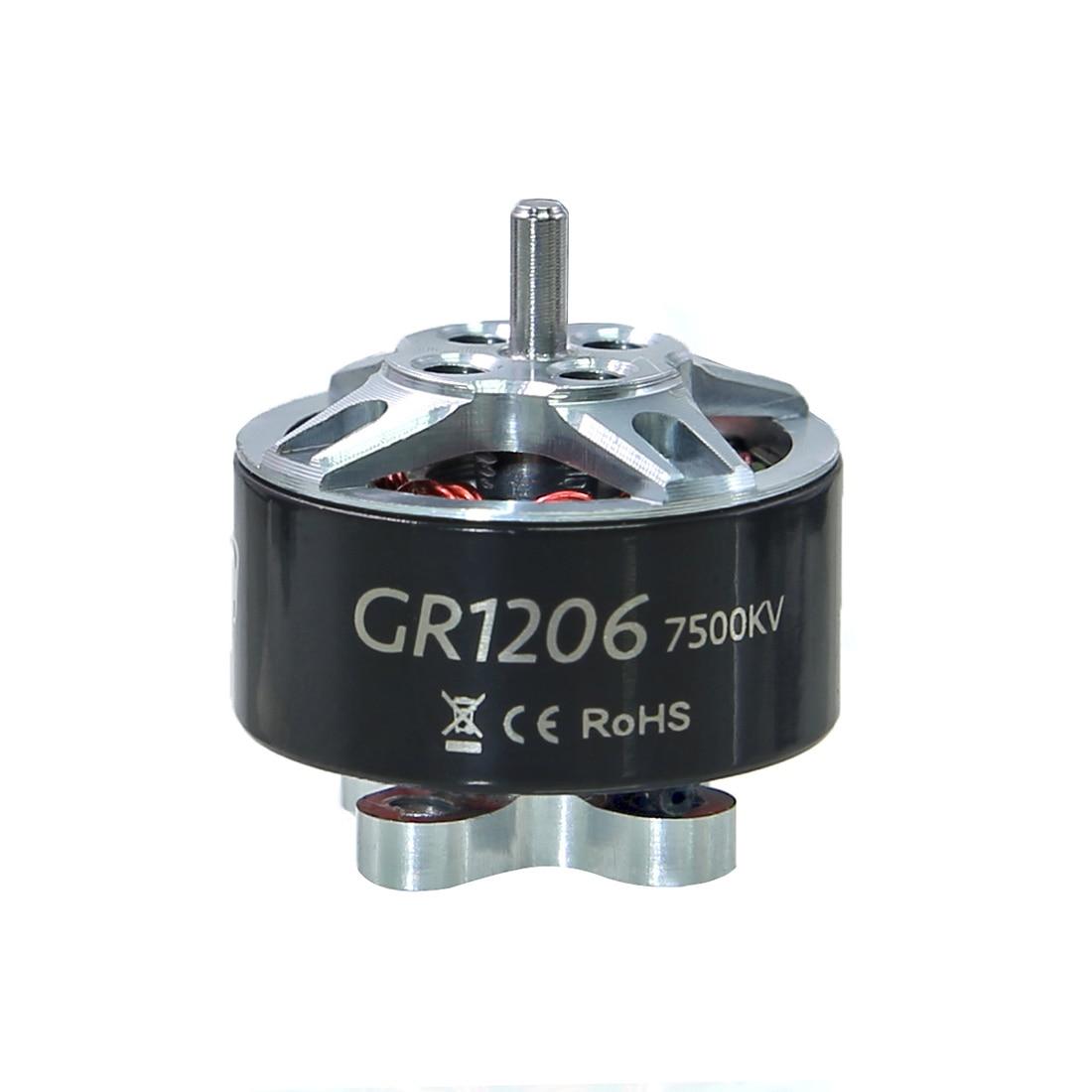 GEPRC GR1206 Motor sin escobillas 4500KV 6000KV 7500KV 2-4S motores mini para DIY FPV multicóptero Quadcopter RC Dron de carreras Accesorios
