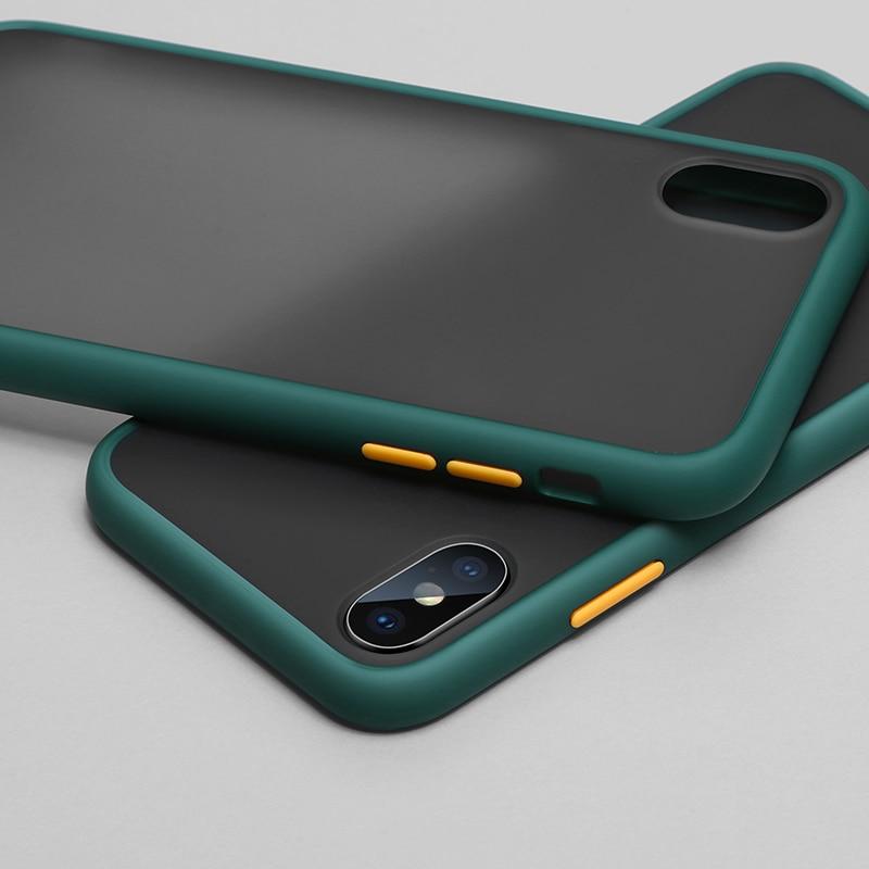 Матовый Жесткий чехол для телефона Samsung Galaxy S10e S8 S9 S10 S20 Note 8 9 10 J8 J6 J4 Plus A7 2018 A70 A50 A71 A51 m40 m30s