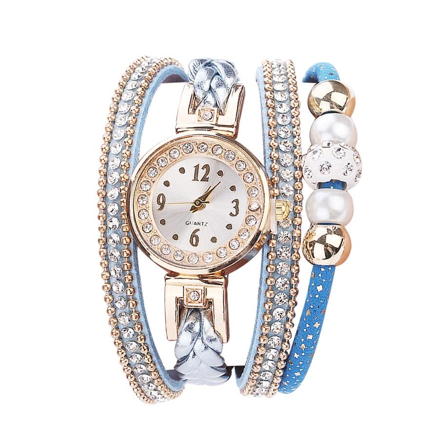 Woman Fashion Leather Strap Round Quartz Wristwatches Watch Digital Japan Movement Militari Watch For Women Stylish Luxury