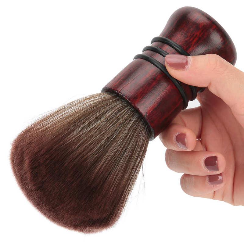 Professional Accessories Hairdresser Neck Duster Brush Soft Salon Barber Cleaning Haircut Hairbrush Brush for Broken Hair