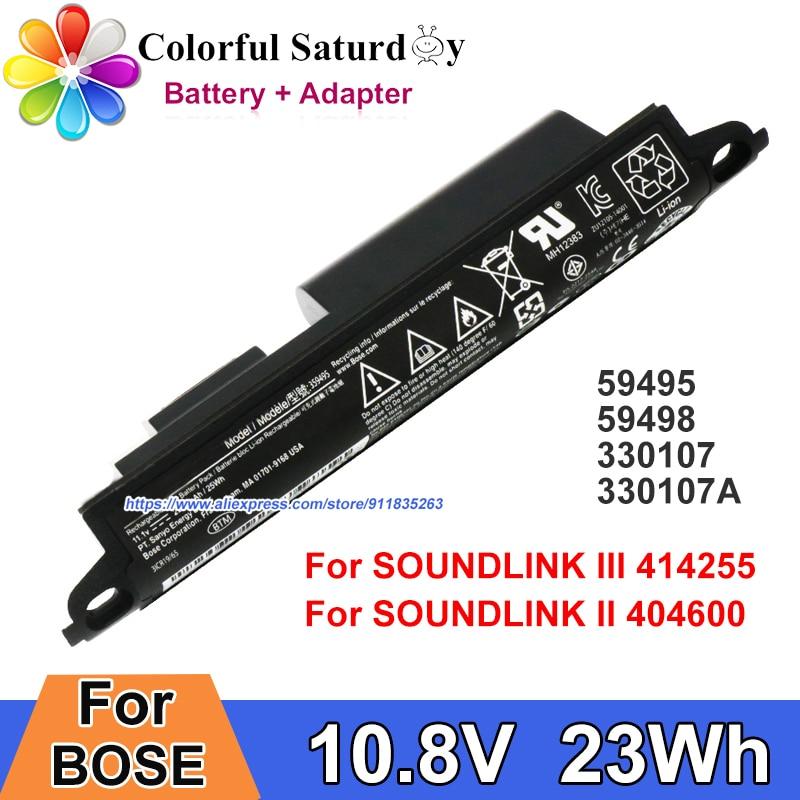 Genuine For BOSE SOUNDLINK III 414255 Soundlink II 404600 412540 359495 359498 Battery 330107 330107A Bluetooth wireless Speaker