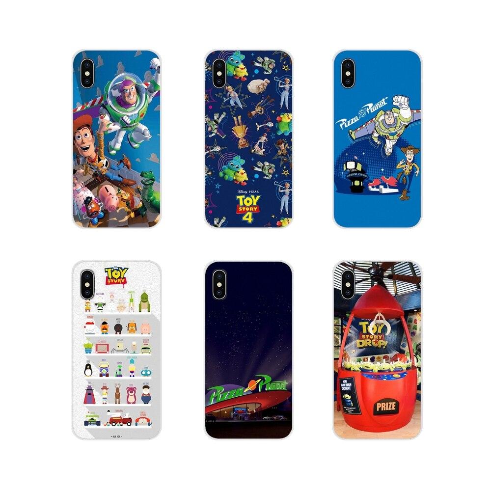 Soft Transparent Bag Case For BQ Aquaris S 5059 5035 6040L C V Plus X X2 Pro U U2 Lite M 2017 E 4.5 E5 X5 Toy Story Pizza Planet