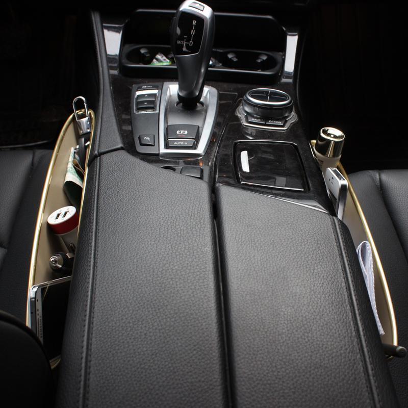 Interieur Accessori Auto Gadget and Hidden Accesorios Coche Interior Accessories Car Organizer Universal Seat Gap Storage Box enlarge