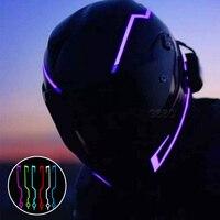 Светоотражающая лента для шлема мотоцикла, 2 шт.