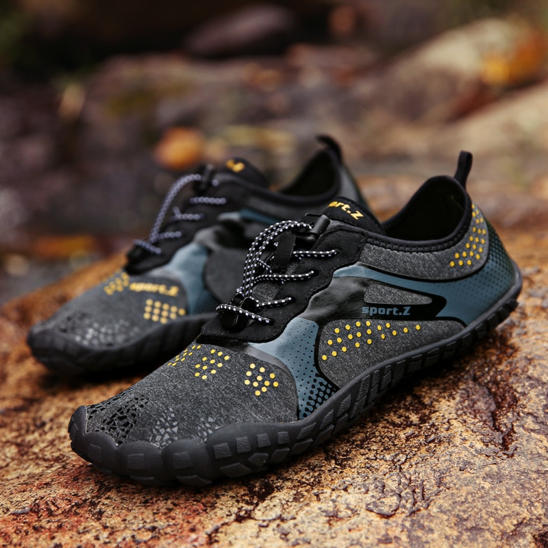 Five-Finger Trekking Wading Shoes Cross-Border Outdoor Anti-Skid Upstream Shoes Couple Beach Diving
