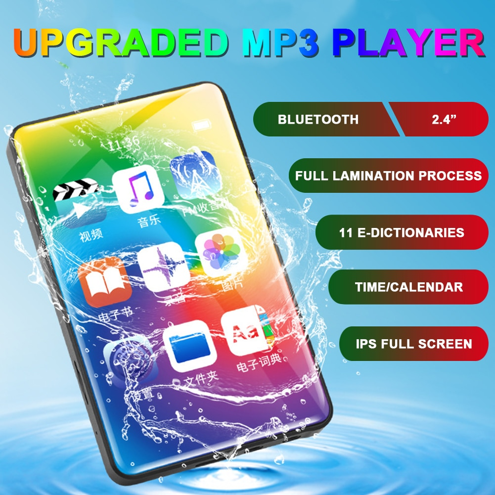 MP3 Player with Bluetooth 4.1 2.4