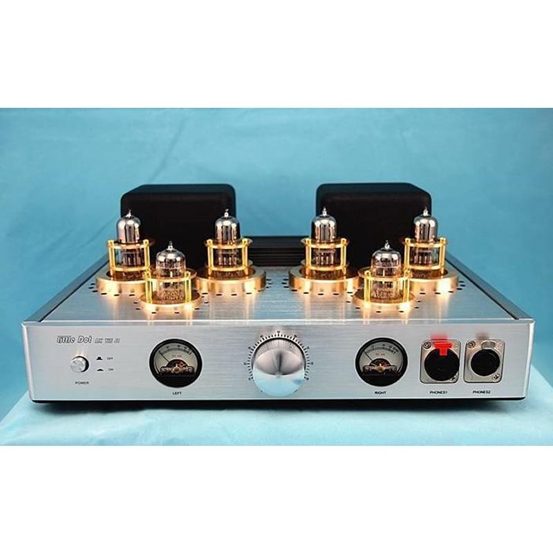 LittleDot MK 8 SE voll ausgewogene vakuum rohr verstärker, SNR 96dB, frequenzgang 5Hz-80KHz,Power verbrauch 110 VA