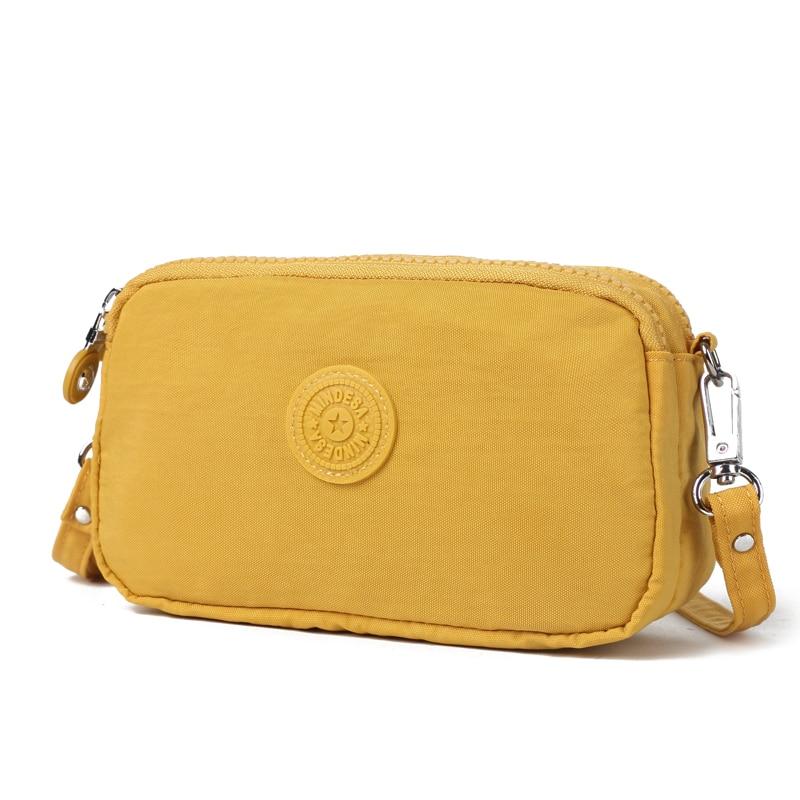 KEDANISON, bolsa de mensajero impermeable para mujer, bolsa cruzada ligera de nailon para mujer