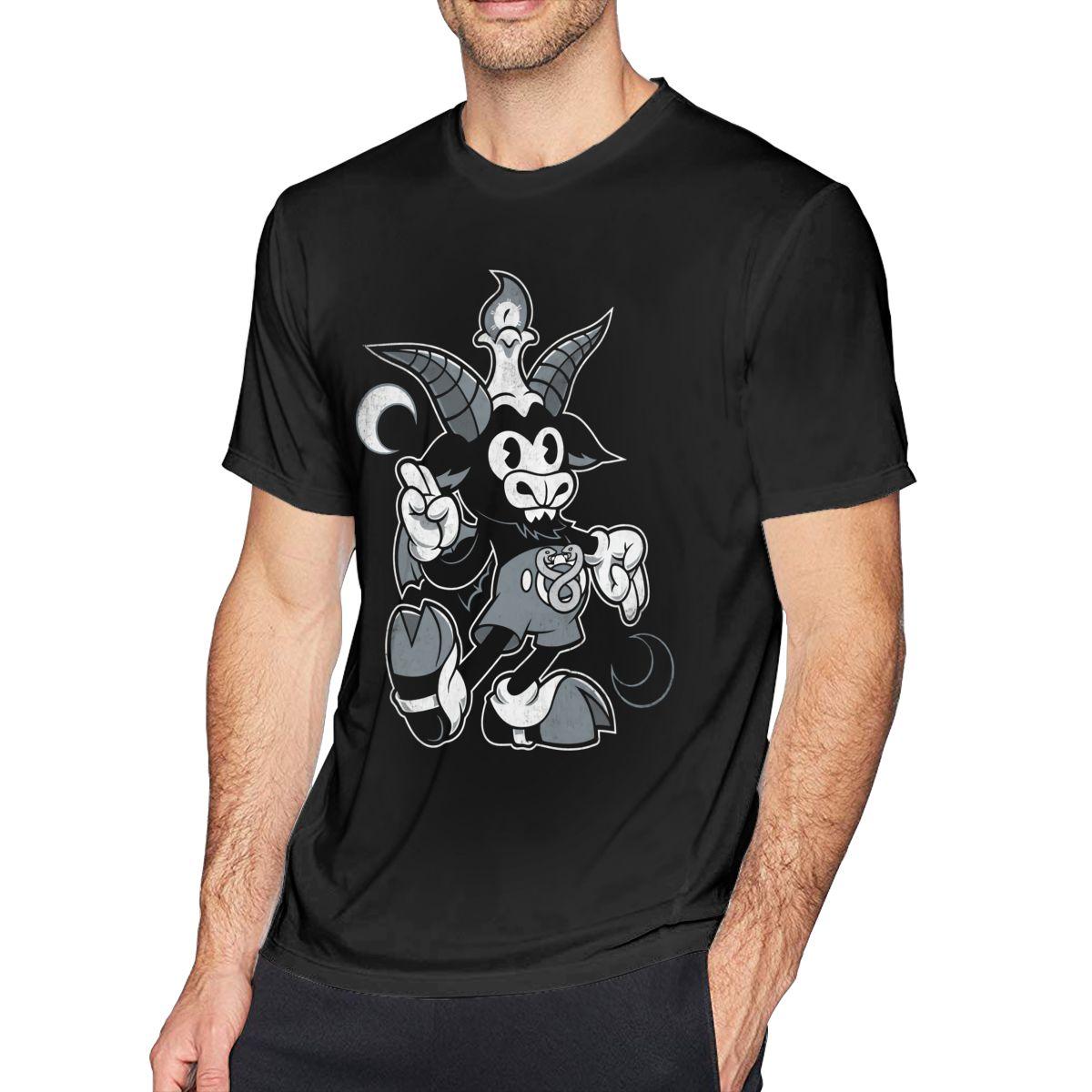 Футболка с козой Do Walt You Wilt Baphomet, оккультная футболка с короткими рукавами из 100% хлопка футболка оверсайз