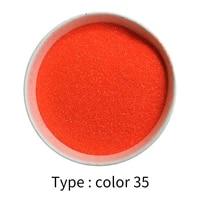 glitter powder pigment coating for painting nail decorations automotive arts crafts 50g dark orange red mica powder pigment