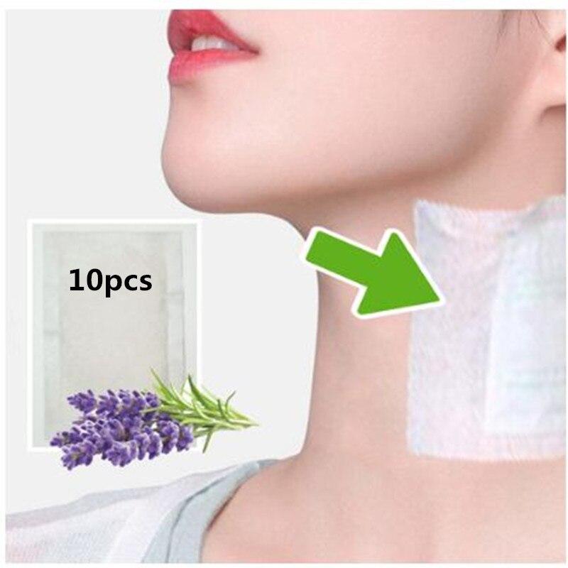 2020 New 20pcs=(10pcs Patches+10pcs Adhesives) Neck Lymphatic Detox Patch