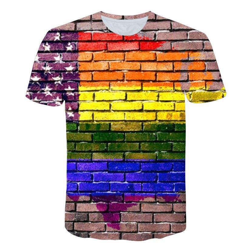 Nueva camiseta de color con estampado hippótico, camiseta divertida 3D vertigo de manga corta, camiseta Dropship para hombres y mujeres