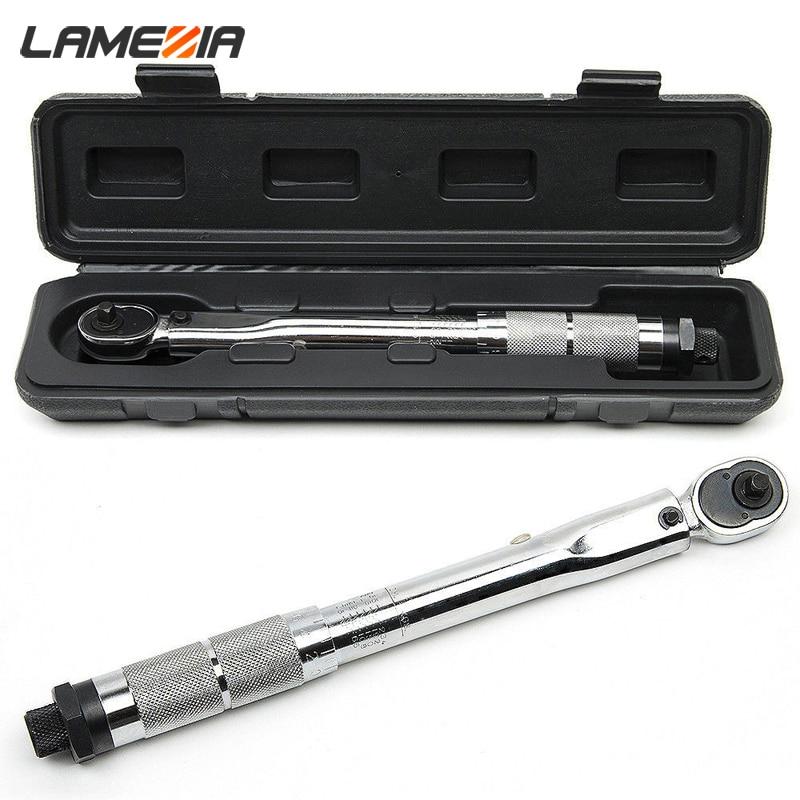 LAMEZIA-مفتاح عزم الدوران ، أداة يدوية ، في اتجاهين إلى آلية دقيقة ، 1/4 3/8 1/2 ، 5-210 نانومتر