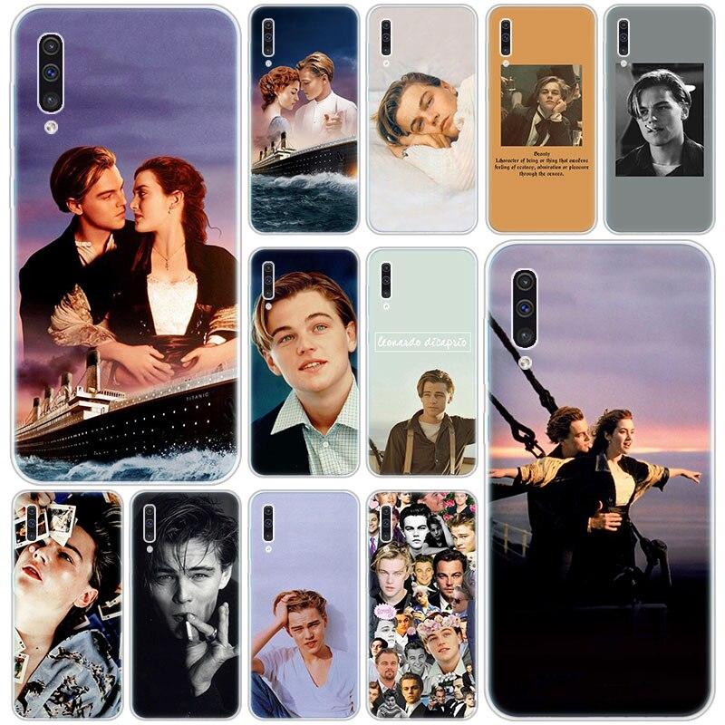 Caliente Leonardo DiCaprio joven silicona caso para Samsung Galaxy A90 5G A80 A70 A60 A50 A40 A30 A20 A10 S A10E A20E M10 M30S M40