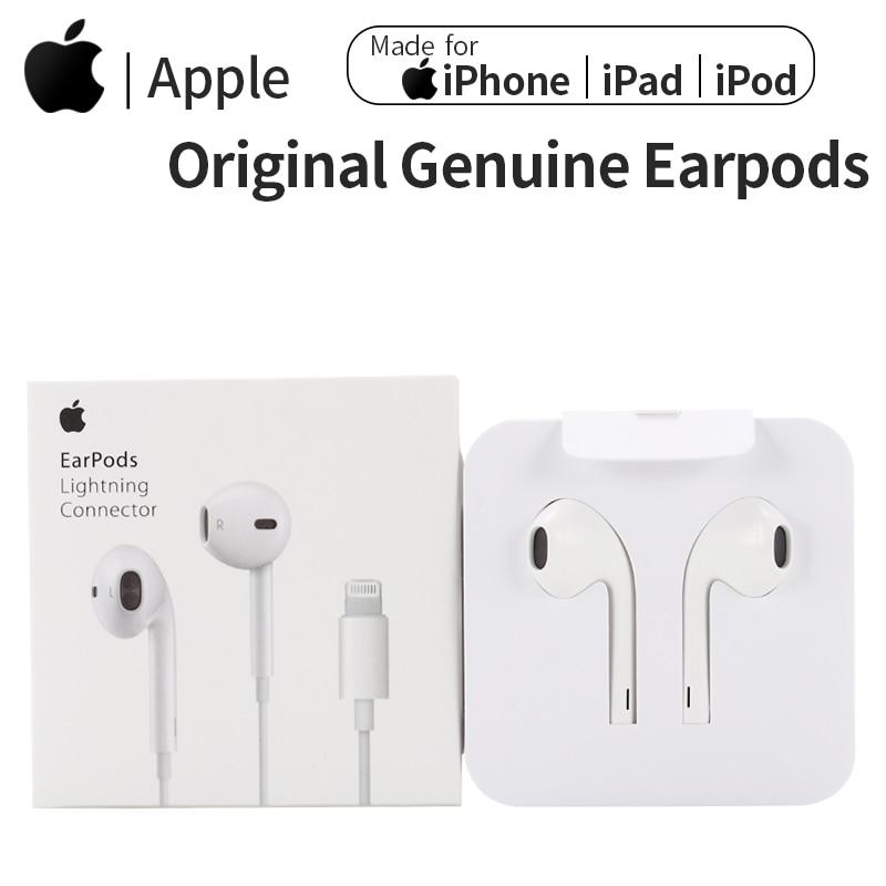 Apple Earpods Original Earphones 3.5mm Plug & Lightning In-Ear Sport Earbuds Deep Richer Bass Headse