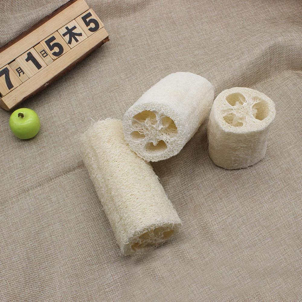 Nuevo baño de esponja vegetal natural esponja de ducha corporal almohadilla de fregar almohadilla caliente eliminar células de la piel muerta efectos cepillo de limpieza