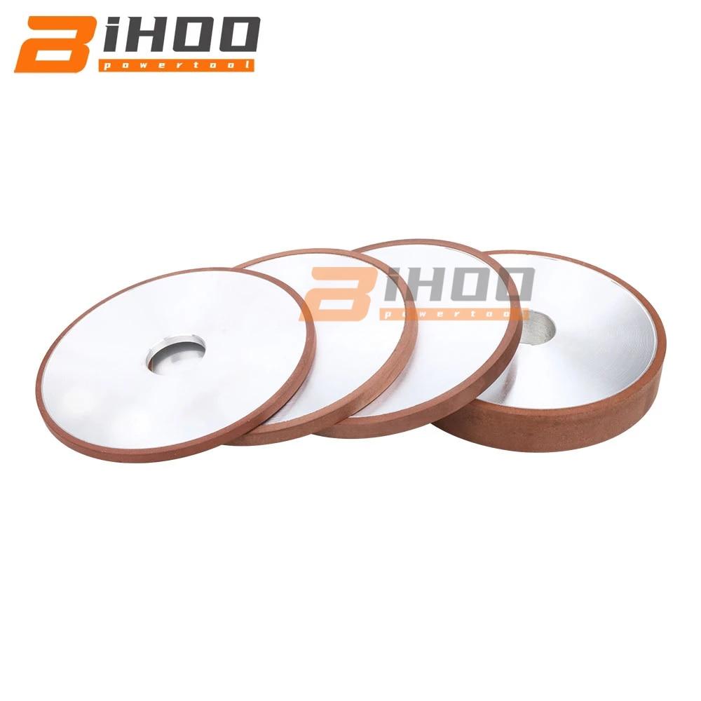 عجلة طحن متوازية من كربيد التنجستن الصلب ، 250 مللي متر ، 150-320 #1 قطعة ، قطر ثقب 32 مللي متر/75 مللي متر