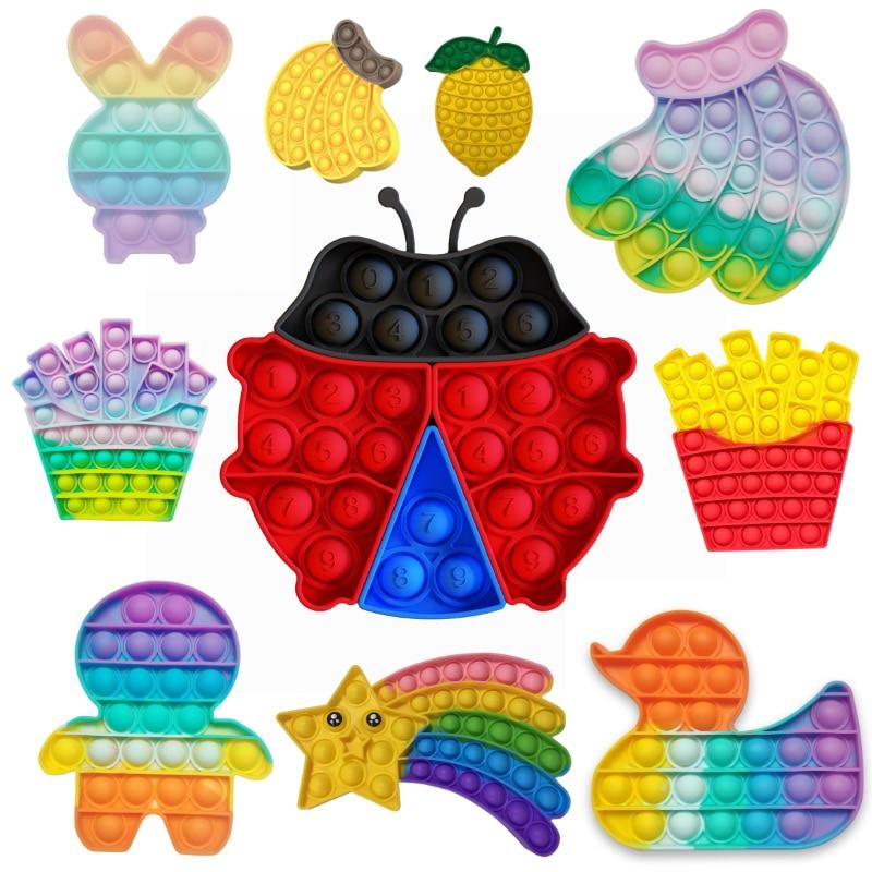 Забавные игрушки, игрушки-антистресс, пузырьки, игрушки-антистресс
