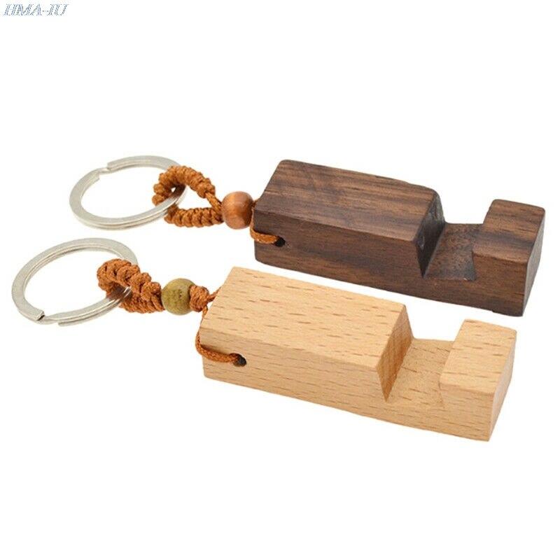 1 шт. творческий легкий тонкий дизайн, межкомнатные деревянные двери мобильный телефон стенд держатель стенд кулон брелок