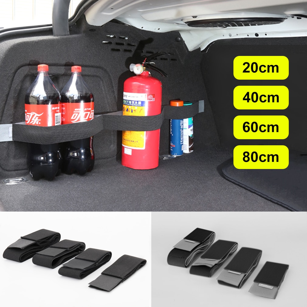 Car Trunk Organizer Fixing Belt Storage Bag Magic Tapes Auto Car Accessries Stowing Tidying Car-styl