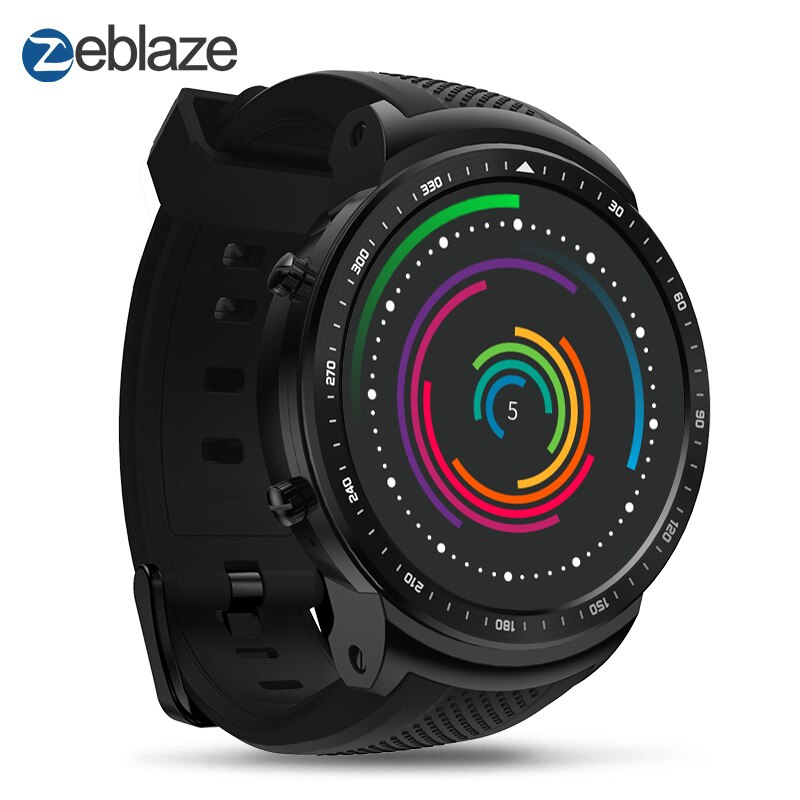 TIPTOP Zeblaze THOR PRO Smartwatch 1.53'' Android 16GB GPS Bluetooth Camera for Android/iOS