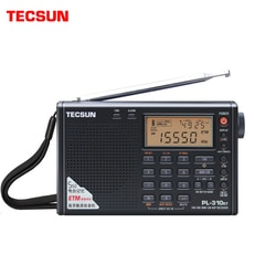 Tecsun PL-310ET rádio de banda completa display led digital fm/am/sw/lw rádio estéreo com sinal de força de transmissão