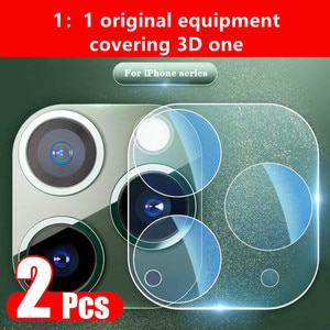 2Pcs Lens Tempered Glass for IPhone 11 12 Pro Max Mini Camera Protective Glass on IPhone 11 12 Pro Max 12mini Lens Protector