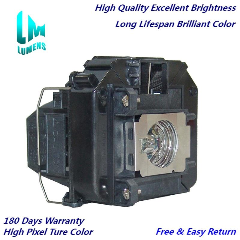 عالية السطوع ELPLP64 لإبسون EB-1880 VS350W EB-1870 EB-1840W EB-1880 EB-C720XN EB-C705W