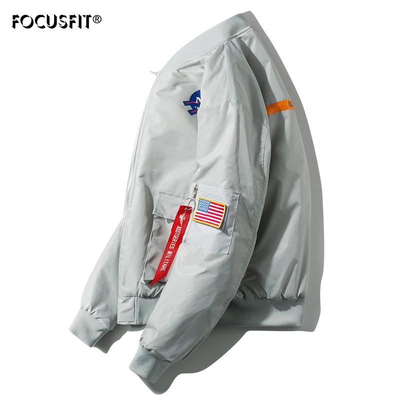 Зимняя куртка FOCUSFIT в стиле милитари, верхняя одежда, мужская армейская куртка-пилот с хлопковой подкладкой, куртка-бомбер, повседневные кур...