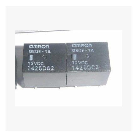 5 uds relé OMRON G8QE-1A DC12V para la reparación de la Unidad de dirección asistida eléctrica para TOYOTA/CITROEN/PEUGEOT