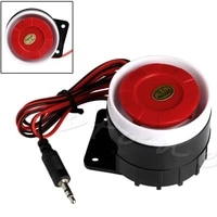 Systeme dalarme de securite domestique  Mini-sirene filaire  120db DC  12V