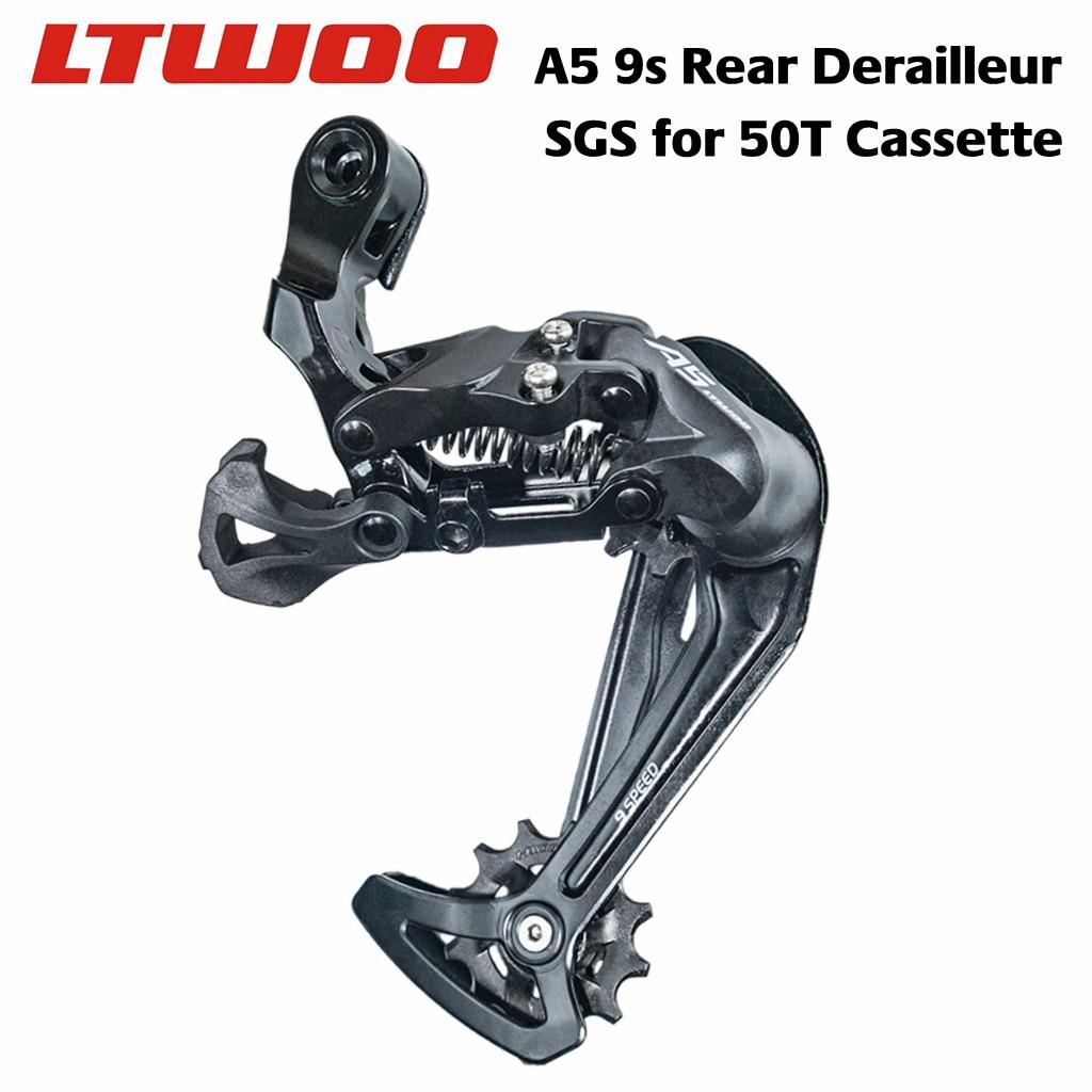 LTWOO-desviador trasero A5, 9 velocidades, 27s, compatible con Cassette 50T, Compatible con...