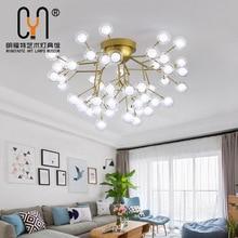 Nordique luzes de teto потолочный светильник plafond lustre Salon cuisine luminaires