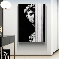 vintage david figure sculpture black and white canvas painting posters prints quadros wall art picture living room decor cuadros
