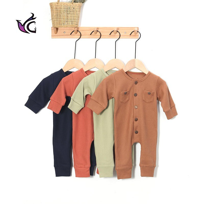 YG Baby Dlothing 2021 New Autumn And Winter New Single Breasted Boys And Girls Baby Coat 1-3-Year-ol
