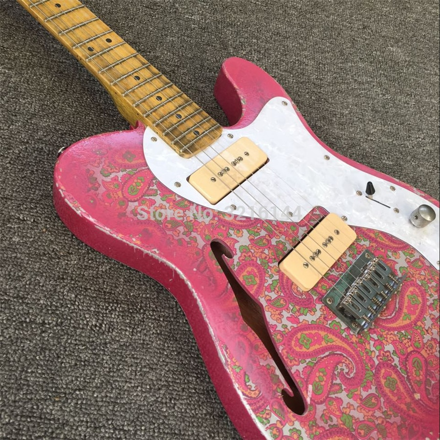 Stock ,Manual do old electric guitar, vintage electric guitar, real photos, factory wholesale and  retail enlarge