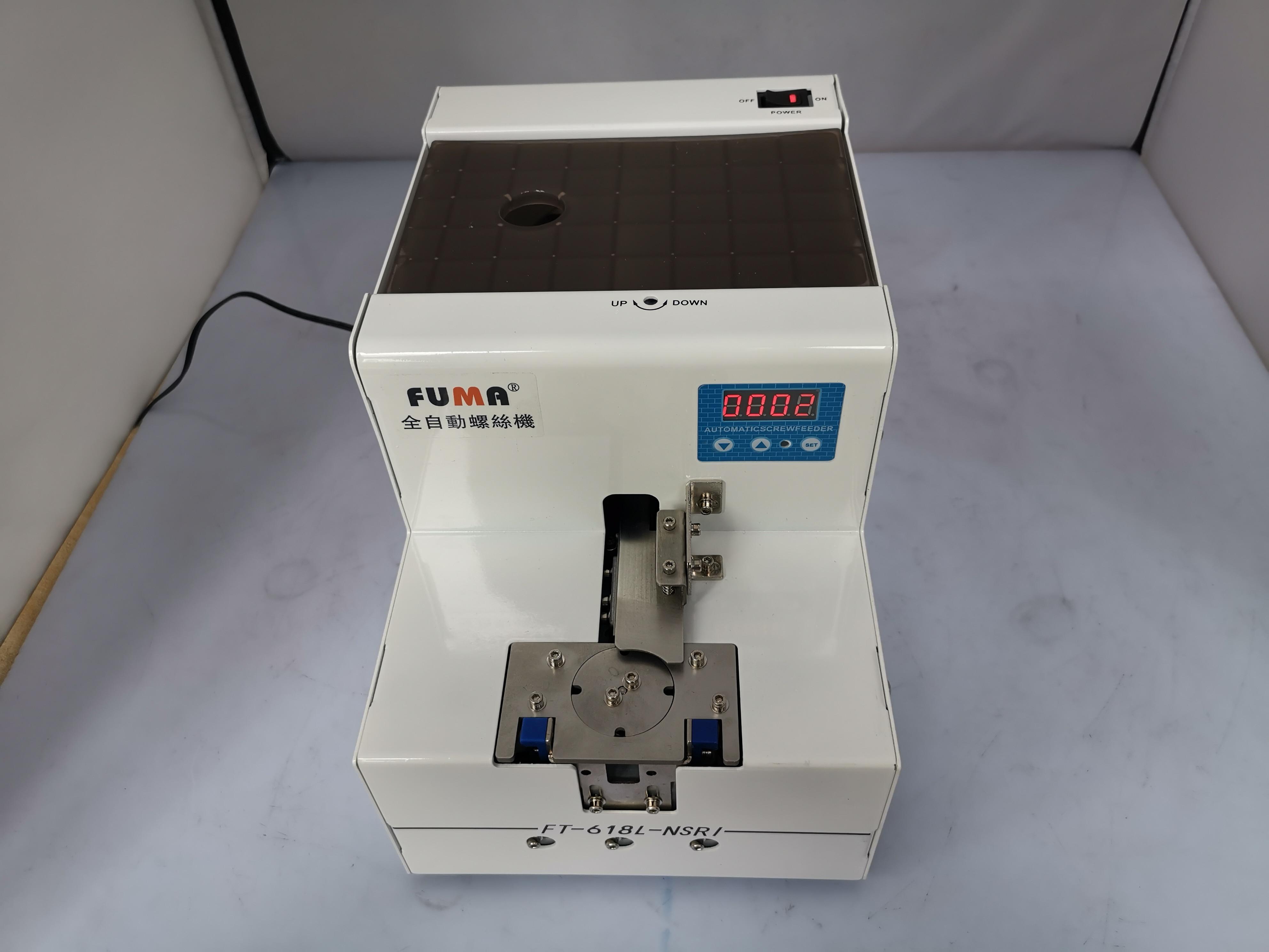 تايوان فوما الروتاري برغي آلة ، FT-618L-NSRI M1.0-5.0 التلقائي برغي الطاعم الطاعم الامتزاز روبوت المتاحة AC100-240V