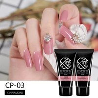 chunshu poly crystal nail gel 30ml uv gel builder nail art manicure finger extension nail gel camouflage color for nail tip form