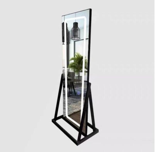 Светодиодный парикмахерский столик парикмахерский специальный зеркало простой шкаф интегрированный парикмахерский салон одиночное двой...