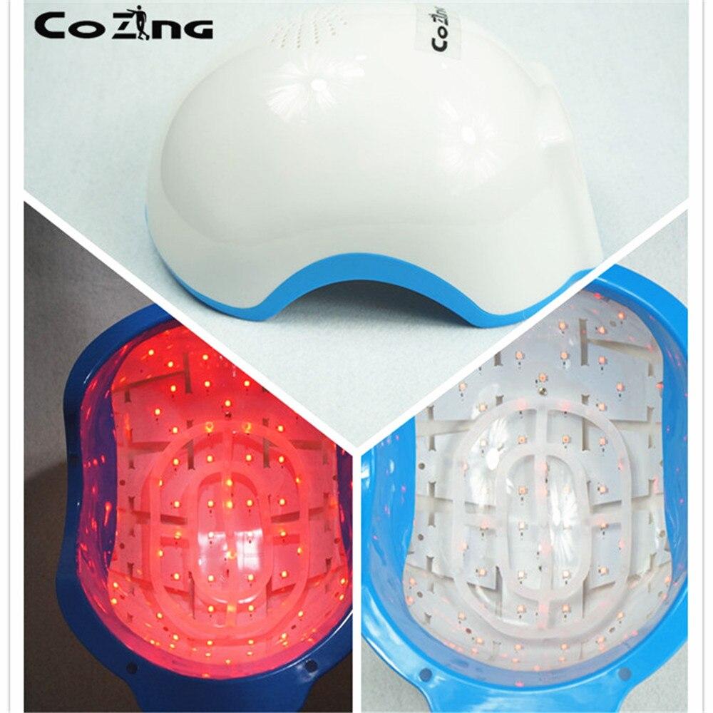 La mejor terapia láser fría con láser gorra para el cabello 678 Nm diodos láser para el crecimiento del cabello casco tratamiento para la pérdida del cabello