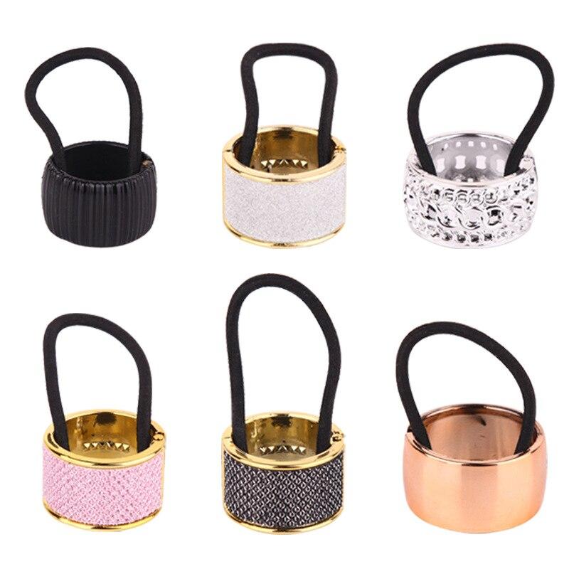 НОВЫЕ Безопасные эластичные повязки для волос для девочек, держатель для конского хвоста, аксессуары для волос для девочек, женские подарки...