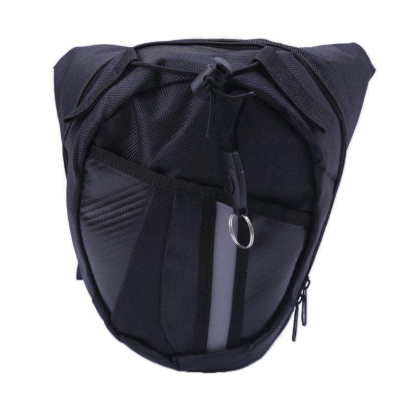 Bolsa al aire libre caída de la pierna motocicleta cintura Pack Unisex Fanny muslo cinturón de bicicleta bolsas