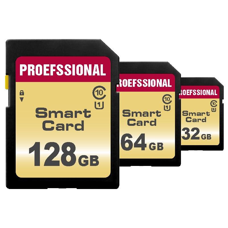 Tarjeta De Memoria De 32GB 16GB 8GB 128GB 64GB tarjeta SD Clase 10 256GB SDXC/SDHC Cartao De Memoria De carta para la cámara