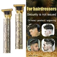 2021 USB T9 Hair Clipper Professional Electric hair trimmer Barber Shaver Trimmer Beard 0mm Men Hair