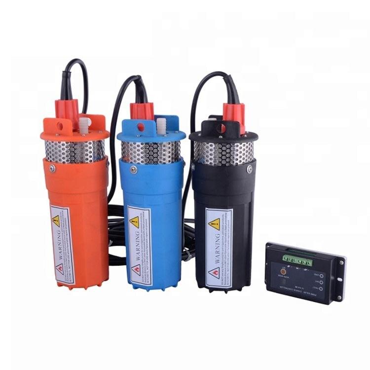 Poços de Irrigação Bomba de Água Alimentado Submersível dc Solar Ym2440-30 6lpm 12
