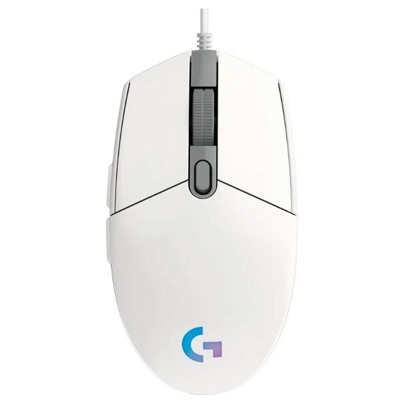 لوجيتك G102 لايت سينك ماوس الألعاب RGB السلكية لعبة ماوس 6 مفاتيح قابلة للبرمجة ماكس القرار 8000 ديسيبل متوحد الخواص G102 نسخة محدثة