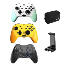 MOBAPAD Wireless Bluetooth Gamepad Pro Controller One Key Wake-Up Joystick Six-axis Turbo NFC Game C